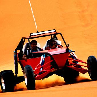 Dune buggy Safari two pax: sharing single seater