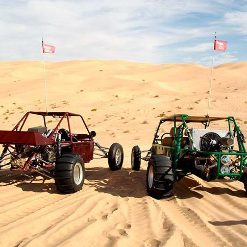 Dune buggy Safari two pax: sharing a double seater