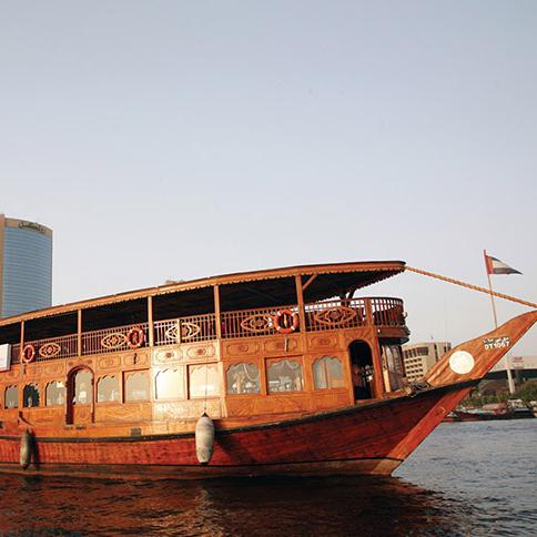 Dhow Cruise - Dubai City Tour